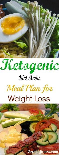 Ketogenic Diet Menu Meal Plan for Weight Loss - low carb clean eating, lose weight, get healthy. Grocery List, shopping list for beginners. #ketogenic #keto #weightloss