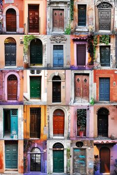 Doors in Trastevere. Which one of these would be Alex's? http://www.studiotheatre.org/plays/play-detail/wolfe-twins