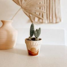 Terracotta Paint, Terracotta Plant Pots, Painted Clay Pots, Painted Flower Pots, Boho Diy, Pottery Painting, Diy Arts And Crafts, Handmade Decorations, Crafting