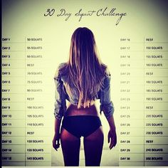"Get the ""Bootea"" you want by combining the 30 day squat challenge with your teatox xx #Padgram"