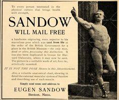 o pai da musculação, eugen sandow