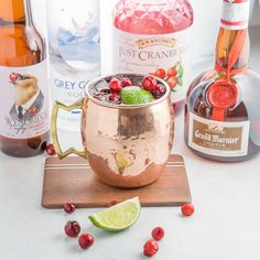 Winter Mule Cocktail