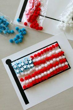flag day craft ideas