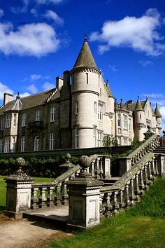 Most Beautiful Ancient Castles - Balmoral Castle, Scotland
