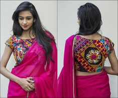 Boat neck blouse designs are clean, elegant and versatile. They look great on sarees and lehengas. Here's 15 boat neck blouse designs to wow your crowd. Blouse Designs High Neck, Patch Work Blouse Designs, Best Blouse Designs, Bridal Blouse Designs, Saree Blouse Designs, Kutch Work Designs, Blouse Styles, Sari Blouse, Boat Neck Saree Blouse