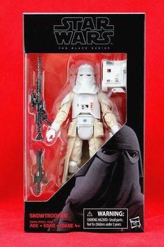 "Snowtrooper Star Wars the Black Series 6"" Action Figure Wave 9 Hasbro Toy New #Hasbro"