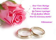 cartes textes recherche google - Texte Felicitations Mariage