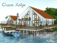 Ocean Lodge by Philo - Sims 3 Downloads CC Caboodle