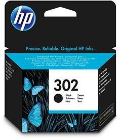 Original HP 302 Tintenpatrone (schwarz)