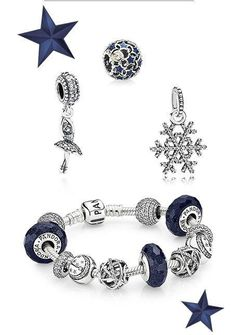 Love the new Pandora blue line, just not a fan of the dangling charms.