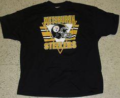 Pittsburgh Steelers Vintage 90s T-Shirt sz. 2X XXL Original BRAND NEW! NFL #PittsburghSteelers