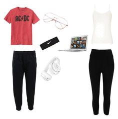 Natasha-Day off by calliehill on Polyvore featuring polyvore, fashion, style, River Island, Brunello Cucinelli, Beats by Dr. Dre, NIKE, Gap and clothing
