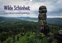 Wilde Schönheit - Das Elbsandsteingebirge - CALVENDO Kalender von Thomas Krebs