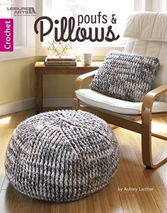 Weekend Crochet Projects: Quick & Easy Patterns #crochet #patterns #easy https://babytoboomer.com/2017/01/24/weekend-crochet-projects/ #home #decor #pillows #poufs #DIY