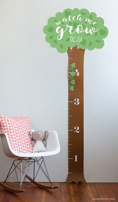 Printable Height Chart for Kids