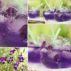 Violet / Pansies are Great foorumi floricious drink. This is from the book what is coming up soon. #floricious #floralfood #edibleflowers #viola #violet #pansy #syötävätkukat #kukkamakuja