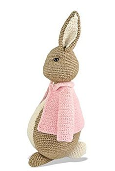 Pasen haken: pa of ma haas Haakpret Easter Crochet, Cute Crochet, Crochet For Kids, Crochet Patterns Amigurumi, Amigurumi Doll, Crochet Hook Sizes, Crochet Hooks, Knitted Bunnies, Crochet Rabbit