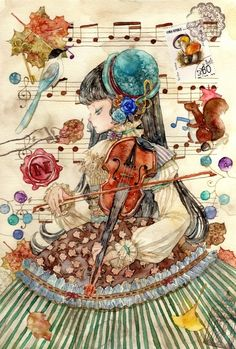 The Second Element Girl Violin ~ by Sophia Xin