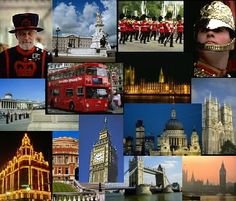 Montage of London.  Been on a trip?  Turn your photo memories of the places you've been into an original jigsaw puzzle.
