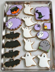 Lovely!! ♥ Easy Decorated Cookies for Halloween | from /Sweetopia/ ~ Marian Poirier ~ Marian Poirier