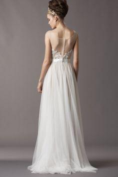 Vestido de noiva esvoaçante | Casar é um barato