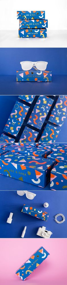 Abe & Sara Sunglass Box on Behance... - a grouped images picture - Pin Them All