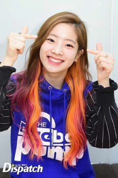 Happy birthday to TWICE's Dahyun Birthday: May 28, 1998 American age:18 International age: 19