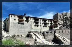 Shey Gompa, which is situated on a hillock on Shey, is also known as Shey Gompa or Shey Palace. This place is around 15 km to the south of Leh and lies on the main Leh-Manali Road. In the past, Shey was the summer capital of Ladakh and is presently in ruins. This monastery was constructed in 1655 by King Deldan Namgyal, better known as Lhachen Palgyigon.  King Deldan Namgyal constructed this monastery in memory for his father, Singay Namgyal.