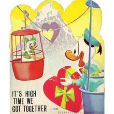 At first I thought it said 'it's time we got high together' LOL  (More Disney)