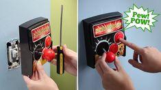 Retro Arcade Light Switch Doesn't Require a Single Quarter