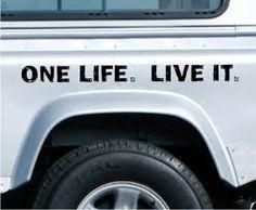 Resultado de imagen para one life live it