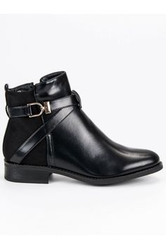 Klasické čierne topánky Seastar Leather Booties, Ankle Booties, Men's Shoes, Shoe Boots, Contemporary Fashion, Black Ankle Boots, Dillards, Mustang, Heeled Mules