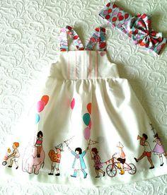 Baby girl dress/tunic evolutionary colorfull children's