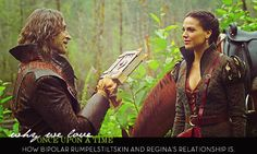 Why We Love Once Upon A Time: How bipolar Rumplestillskin and Regina's relationship is.