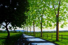 Paintings (Originals) For Sale | Morning Shadows 4x6 FEET | ArtsyHome-Home and Garden Design Ideas