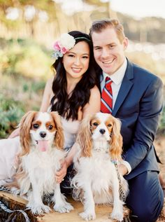 LEA PUPS!  This is why my pups need to be at the wedding!!  San Francisco engagement | Photography: cocotranphotography.com