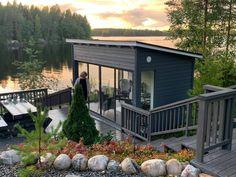 Modern Shed, Gazebo, Deck, Cottage, Backyard, Outdoor Structures, Villa, Outdoor Decor, Summer