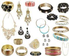 Elegant jewelry pieces