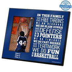 Give your #1 fan a personalized basketball mom photo frame this Mother's Day exclusively from ChalkTalkSPORTS.com