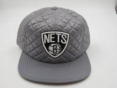 finest selection 162ed d1da8 Brooklyn Nets Hip Hop Gray Throwback Mitchell   Ness NBA Snapback Hat Cap  for sale online   eBay