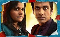 Zainab and Yuzef played by Nina Wadia and Ace Bhatti.