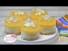 NO BAKE Ananas-Kokos-Törtchen   sommerliche Torte von Nicoles Zuckerwerk