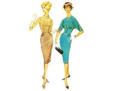 Sheath Dress and Jacket Pattern McCalls 5315 Sz 12 Gored Skirt, Anti Fashion, Collarless Jacket, Mccalls Patterns, Hippie Outfits, Jacket Pattern, Hippie Style, Sheath Dress, 1960s