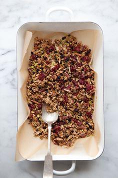 Cannelle et Vanille's gluten-free granola