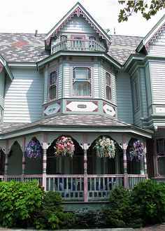 3rd floor balcony Over 80 Different Victorian Homes http://pinterest.com/njestates/victorian-homes/Victorian House:   :NJ Homes For Sale http://paulstillwaggon.weichertagentpages.com/listing/listingsearch.aspx?Clear=2