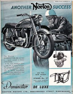 Norton Dominator..