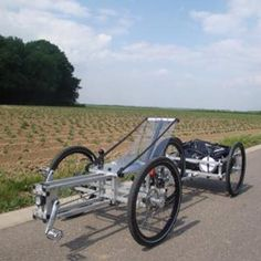 XYZ Spaceframe Vehicle designs can be built at home using basic tools and materials.hand me that wrench, Igor - we're going Green! Tricycle Bike, Trike Bicycle, Recumbent Bicycle, Recumbent Bike Workout, New Bicycle, Cruiser Bicycle, Cargo Bike, Motorized Bicycle, Bike Bag