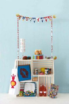 I like this website.  lemonade stands, boys rooms, diy ideas for kids.