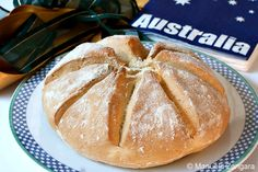 Damper is a traditional Australian soda bread prepared by swagmen, drovers, stockmen and other travelers. It consists of a wheat flour base. Traditional Australian Food, Good Food, Yummy Food, Yummy Recipes, Bread Recipes, Aussie Food, Soda Bread, Different Recipes, International Recipes