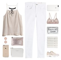 """""""ALEEZA ♡"""" by expresng ❤ liked on Polyvore featuring H&M, rag & bone, NIKE, Christy, Accessorize, Vanessa Bruno, Linda Farrow, Marc Jacobs, ETUÍ and Acne Studios"""